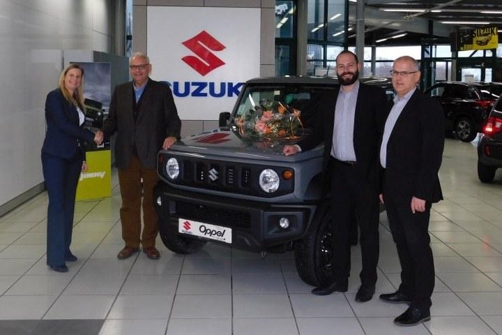 100. Suzuki ausgeliefert
