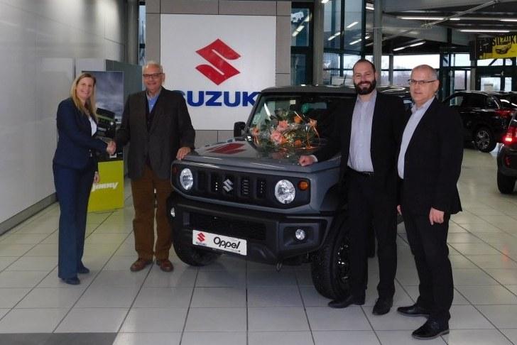 100. Suzuki ausgeliefert.