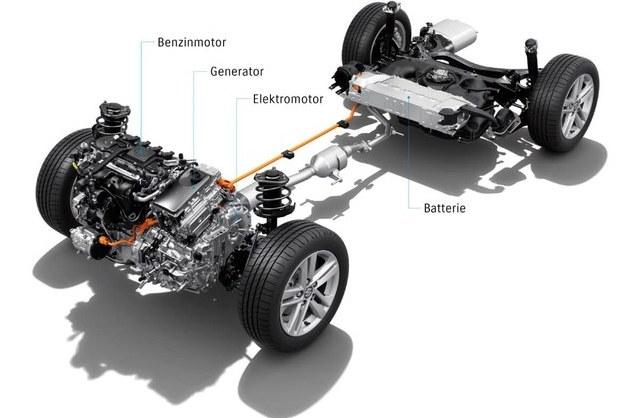Das Suzuki Swace Vollhybrid-System