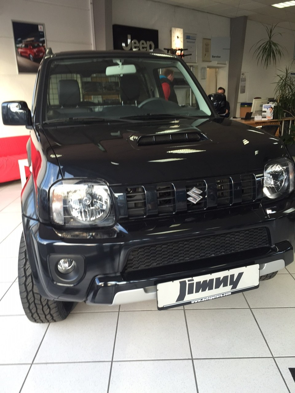 Jimny Neuwagen schwarz