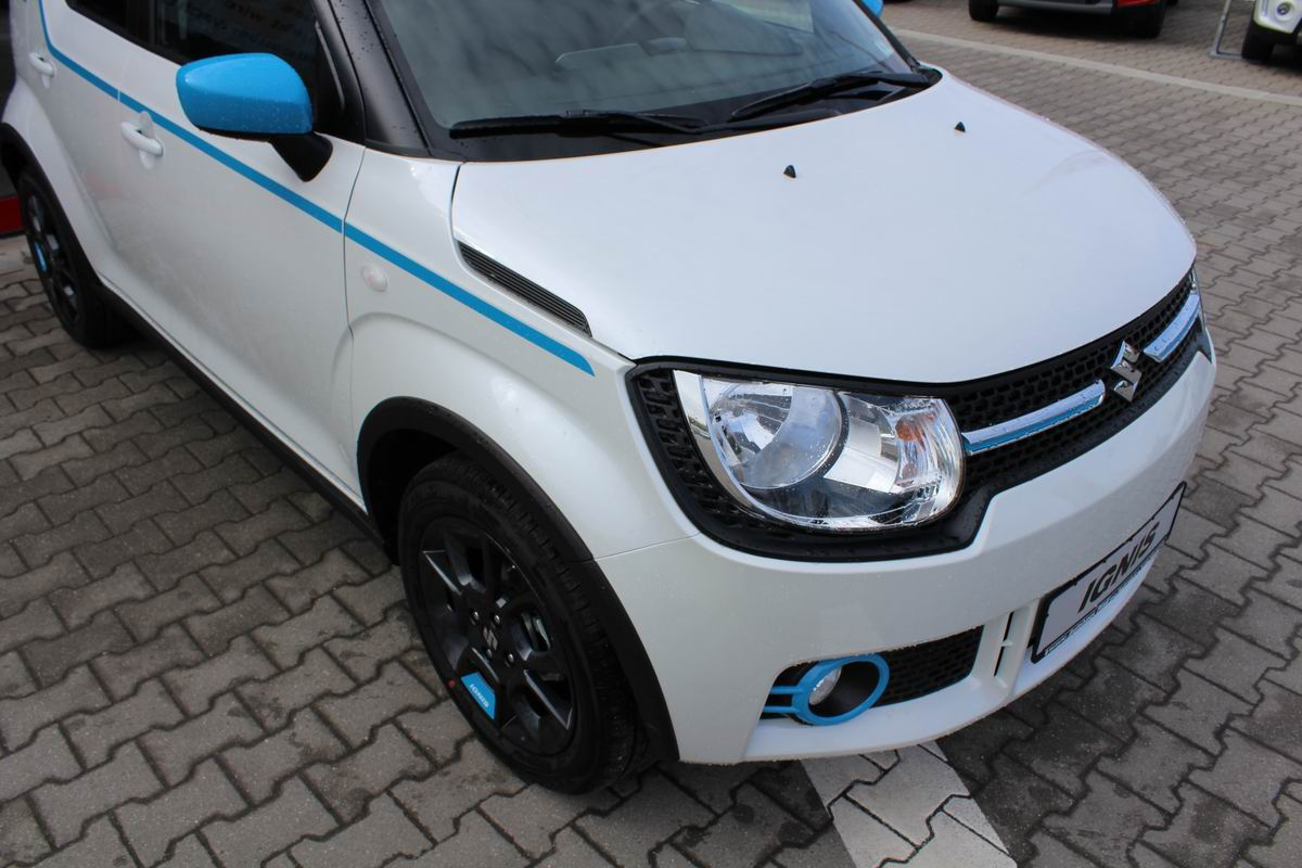Ignis White Blue