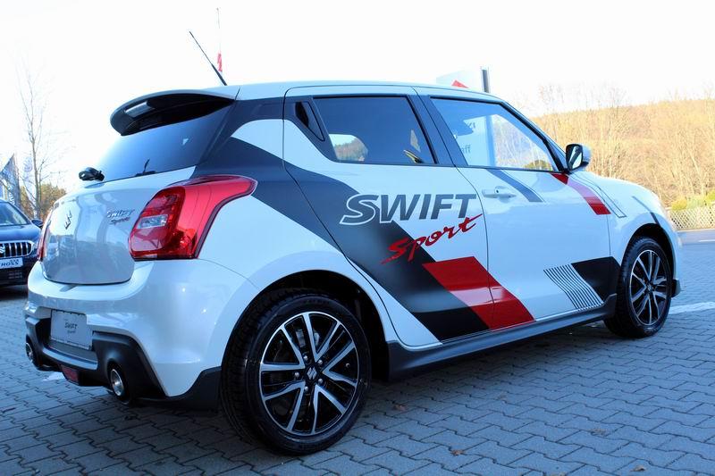 Swift Sport weiß