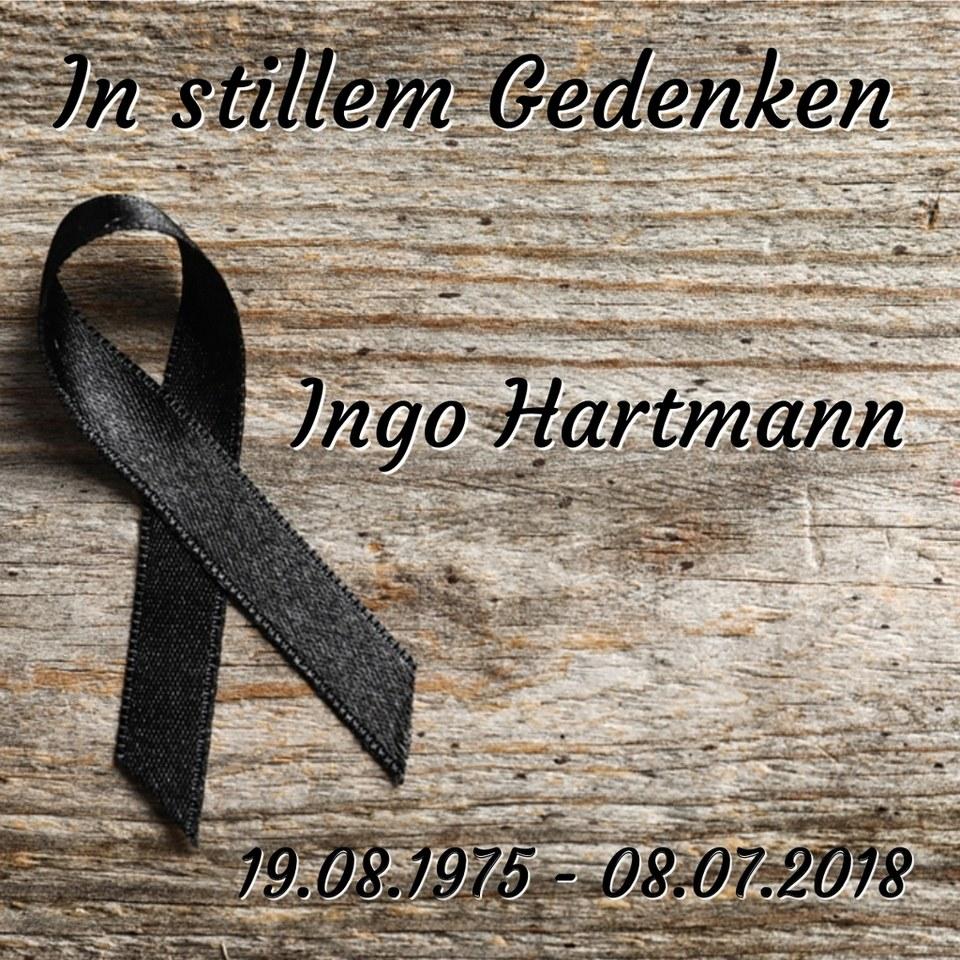 Wir trauern um Ingo Hartmann