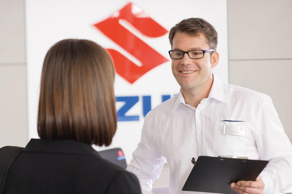 Der neue Suzuki Swift Seitenansicht