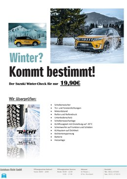 Winter? Kommt bestimmt! [Winter-Check]