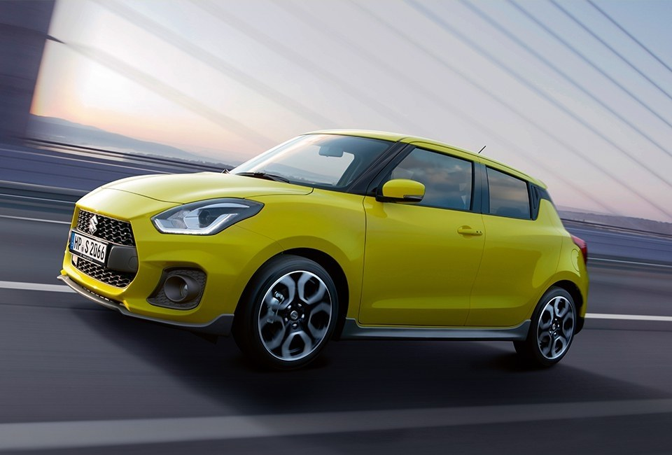 Suzuki Swift Sport - Seitenansicht