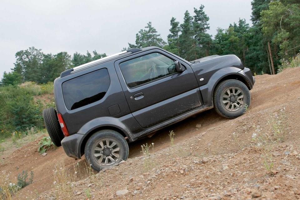 Suzuki Jimny Seitenansicht