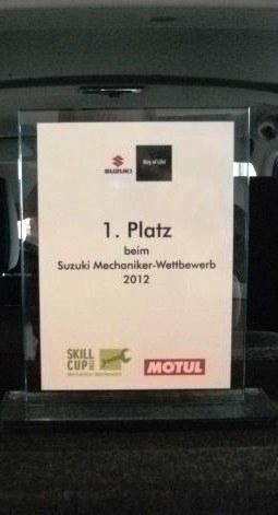 Mechaniker-Wettbewerb 2012