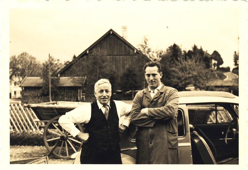 Vater und Sohn Schöllhorn