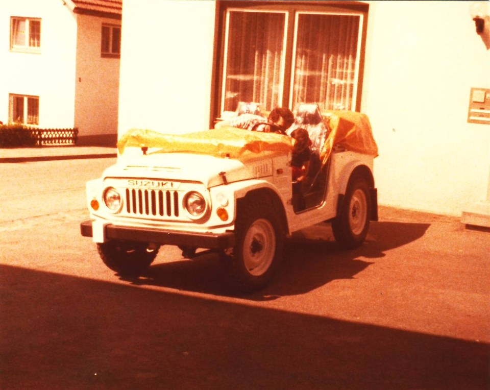 SJ erstes Auto