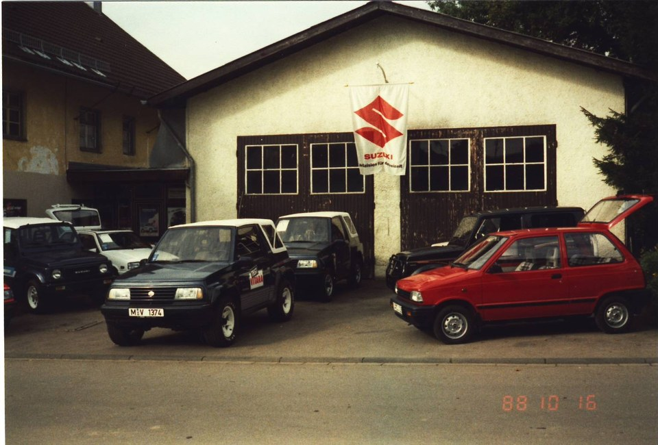 erstes Suzuki Autohaus