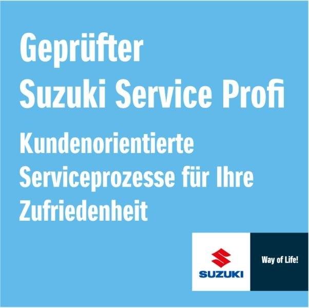 Geprüfter Suzuki Service Profi