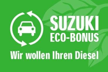 Der Suzuki Eco-Bonus.