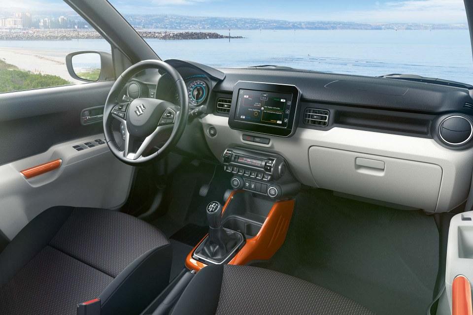 Suzuki Ignis Innenraum