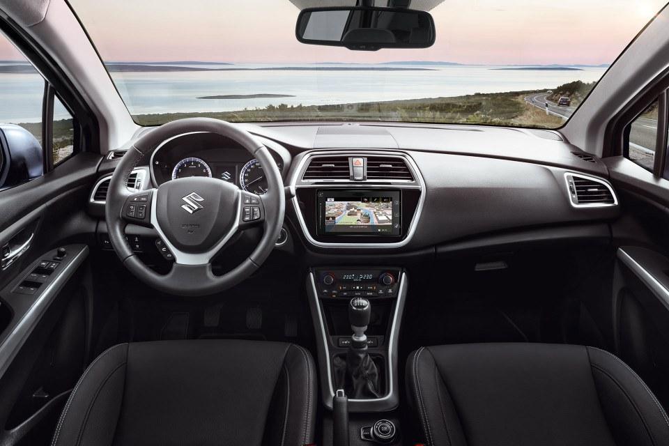 Suzuki SX4 S-Cross Innenraum