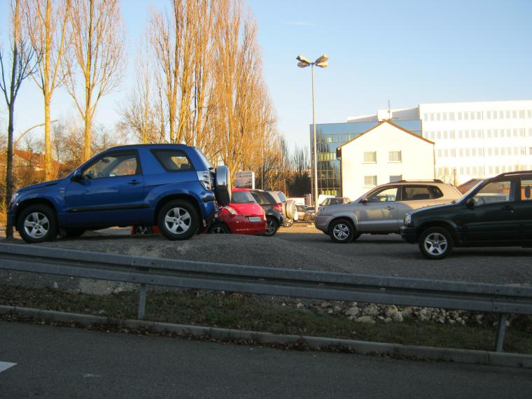 Gebrauchtwagenplatz