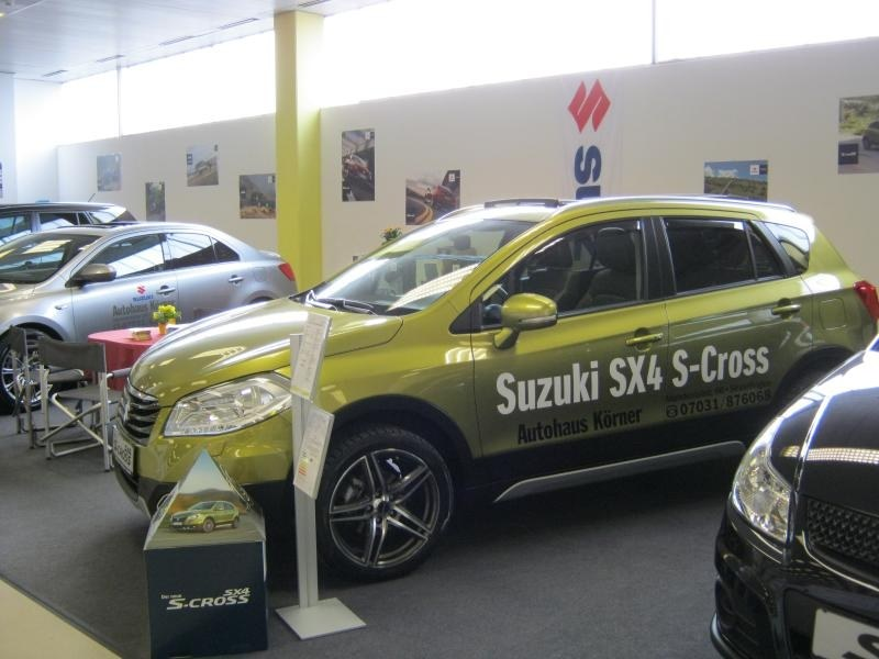 Autosalon 2014 in der Sindelfinger Messehalle