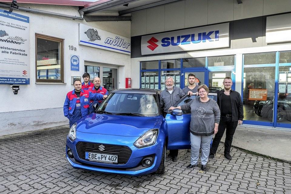 Das Autohaus Müller Team