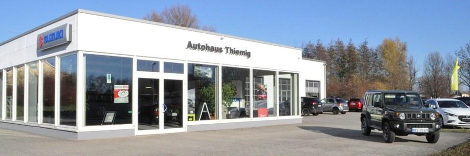 Herzlich Willkommen im Autohaus Jens Thiemig