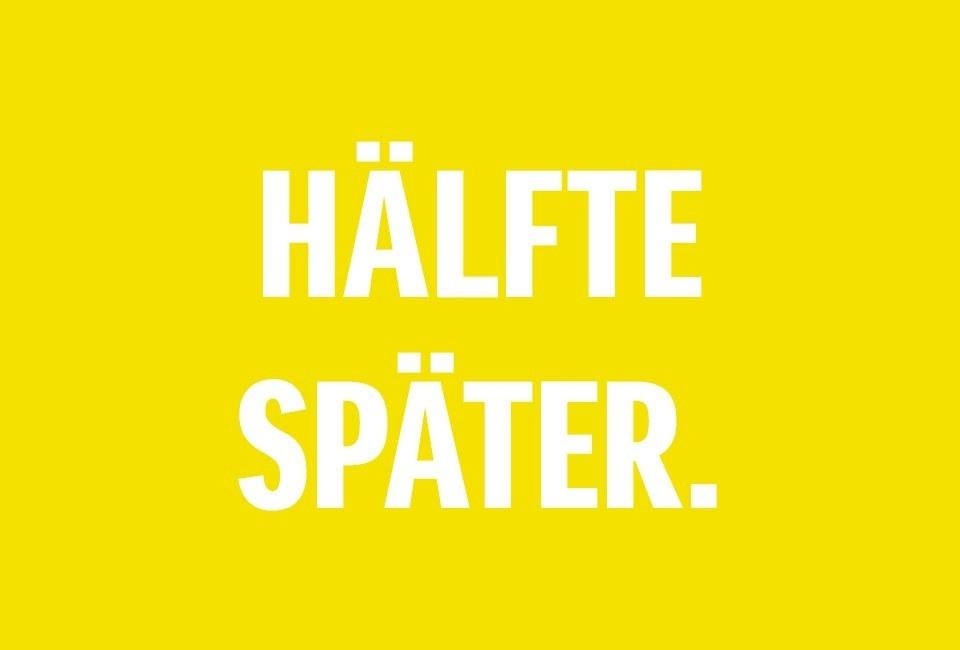 50:50 Swift Sport Hälfte Später