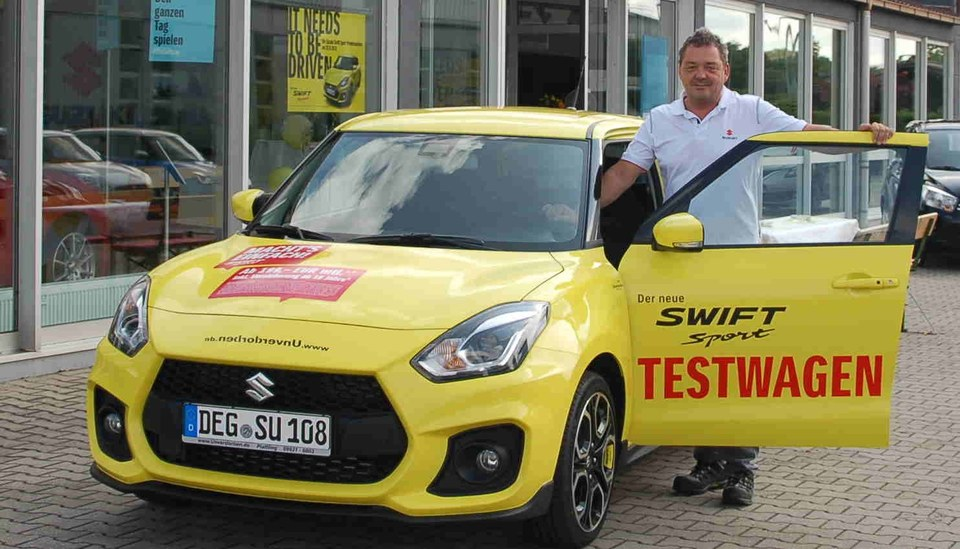 Swift Sport + Andreas