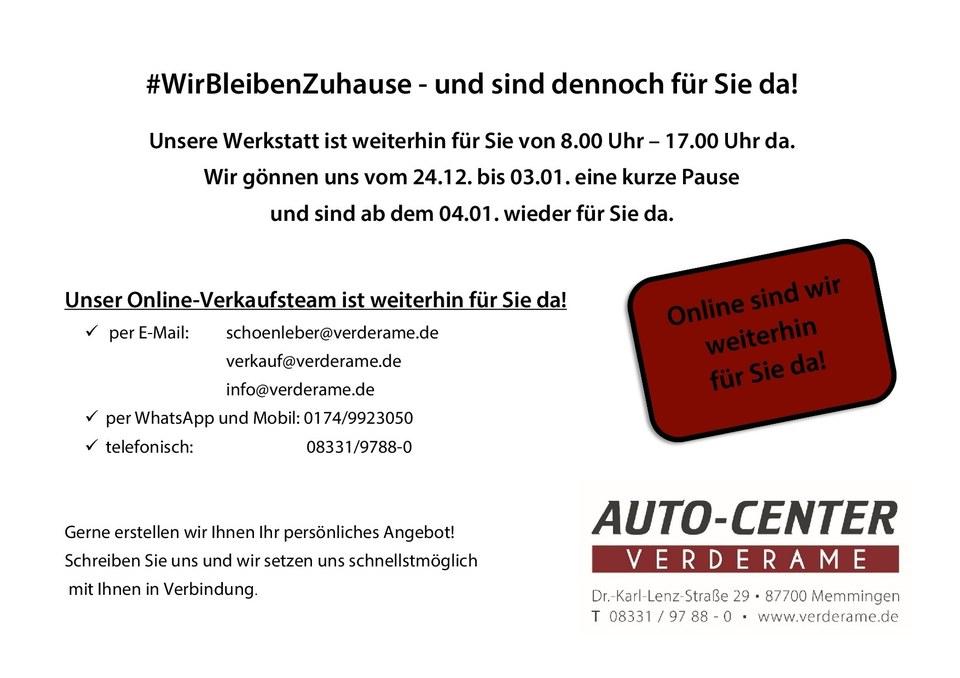 #WirBleibenZuhause - und sind dennoch für Sie da!