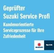 Wir sind Ihr Suzuki Service-Profi in Memmingen.