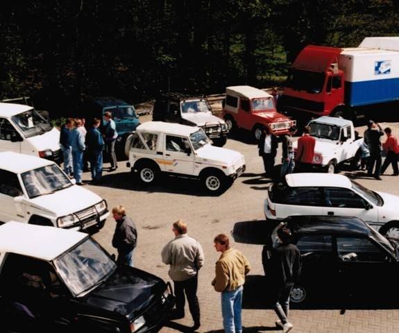 1990: Suzuki Vertragshändler