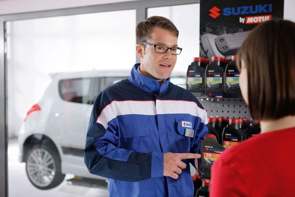 Suzuki Service Oel
