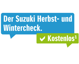 Der Suzuki- Herbst- und Wintercheck.