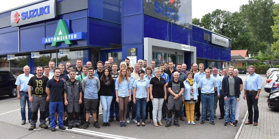 Das Team ZIMPEL & FRANKE Gruppe in Zwickau