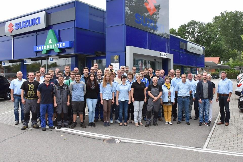 Team ZIMPEL & FRANKE in Zwickau